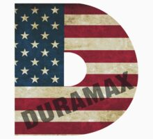 Duramax American Flag One Piece - Long Sleeve