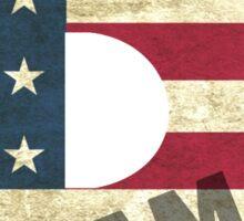 Duramax American Flag Sticker