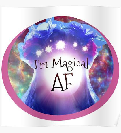 Magical Girls Run the World Poster