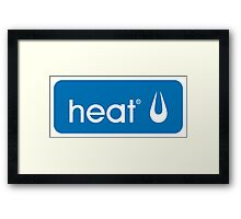 Heat Logo Retro - 1 (GTA V) Framed Print