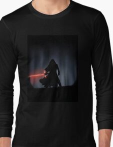 Kylo Ren in the Forest Long Sleeve T-Shirt