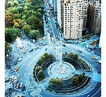 Columbus Circle Photographic Print