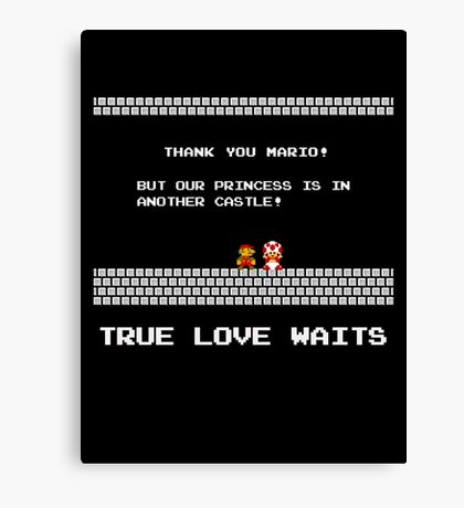True Love Waits Canvas Print