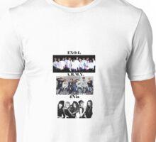 Exo, Bts, 4minute Fan Clubs Unisex T-Shirt