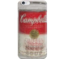 Campbell's Soup Can Overlay iPhone Case/Skin