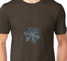 Vega - snowflake macro photo Unisex T-Shirt