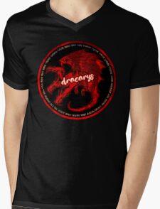 DRACARYS Mens V-Neck T-Shirt