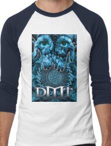 DMT - Blue Hands Men's Baseball ¾ T-Shirt