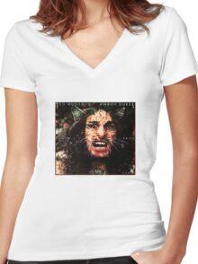 WOODERSON'S SHIRT Women's Fitted V-Neck T-Shirt