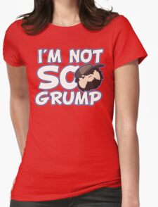 Im Not So Grump Womens Fitted T-Shirt