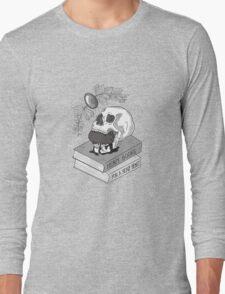 Heavy Books For A Heavy Heart Long Sleeve T-Shirt