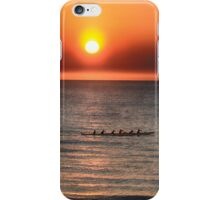 Sculling on The Gulf iPhone Case/Skin