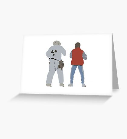 Back (s) to the Future  Greeting Card