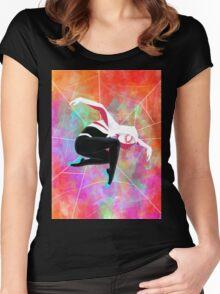 Spider-Gwen Women's Fitted Scoop T-Shirt