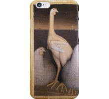 Vintage famous art - Grant Wood - Adolescence iPhone Case/Skin