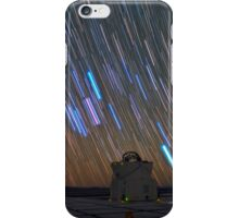Star trails in Chile iPhone Case/Skin