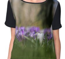 Stand out from the crowd Chiffon Top
