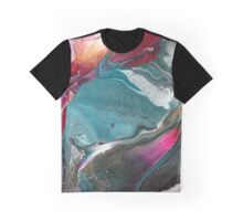 Walking Lightly - Modern Abstract Painting Graphic T-Shirt