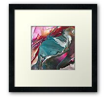 Walking Lightly - Modern Abstract Painting Framed Print