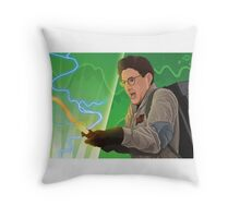 I Looked At The Trap Ray! Throw Pillow