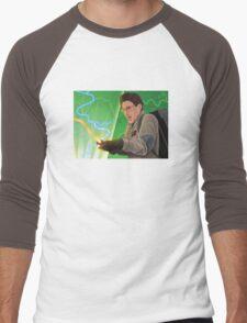 I Looked At The Trap Ray! Men's Baseball ¾ T-Shirt