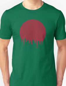 Painted Red Unisex T-Shirt