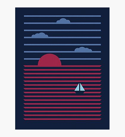 Plain Sailing Photographic Print