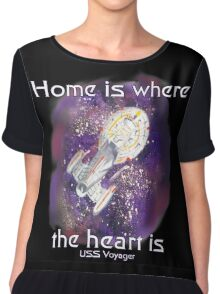 Home is where your heart is.. Chiffon Top