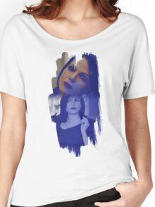 Regina Mills - brush effect Women's Relaxed Fit T-Shirt