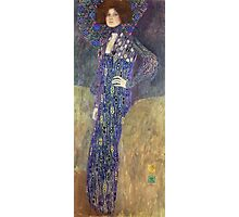 Gustav Klimt - Emilie Floege - Klimt -Woman Portrait Photographic Print
