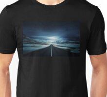 Long Icy Road Unisex T-Shirt