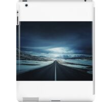 Long Icy Road iPad Case/Skin