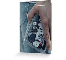 BTS Fire #1 Greeting Card