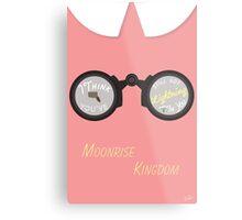 Moonrise Kingdom: Lightning Metal Print