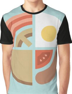 Breakfast Time Graphic T-Shirt
