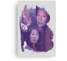 Cristina Yang - brush effect Canvas Print