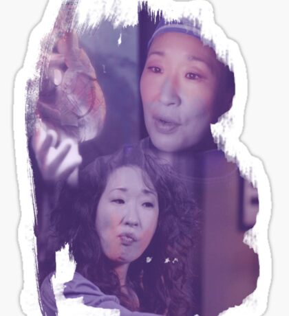 Cristina Yang - brush effect Sticker
