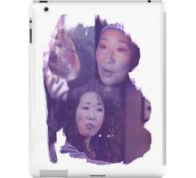 Cristina Yang - brush effect iPad Case/Skin