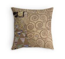 Gustav Klimt - Expectation - Klimt - Throw Pillow
