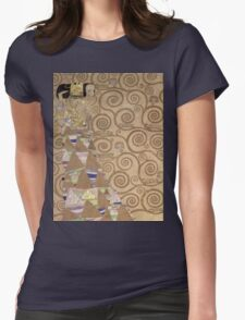 Gustav Klimt - Expectation - Klimt - Womens Fitted T-Shirt