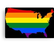 LGBT USA! Canvas Print