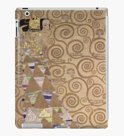 Gustav Klimt - Expectation - Klimt - iPad Case/Skin