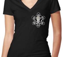 Nature's Cunning Women's Fitted V-Neck T-Shirt