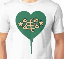 BAHAI BLEEDING HEART Unisex T-Shirt