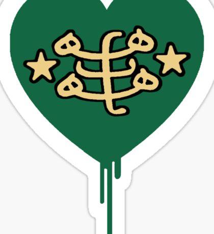BAHAI BLEEDING HEART Sticker