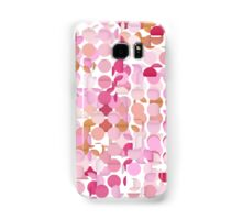 Multi Layer Pink Polka Dot Samsung Galaxy Case/Skin