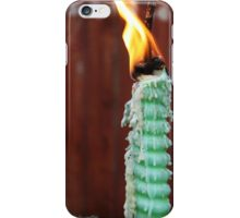 Candle and Flame iPhone Case/Skin
