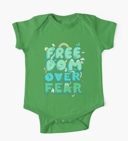 Freedom Over Fear One Piece - Short Sleeve