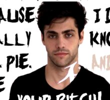 Alec Lightwood and his pie Sticker