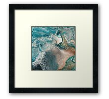 Sq3 Abstract Modern Painting Framed Print